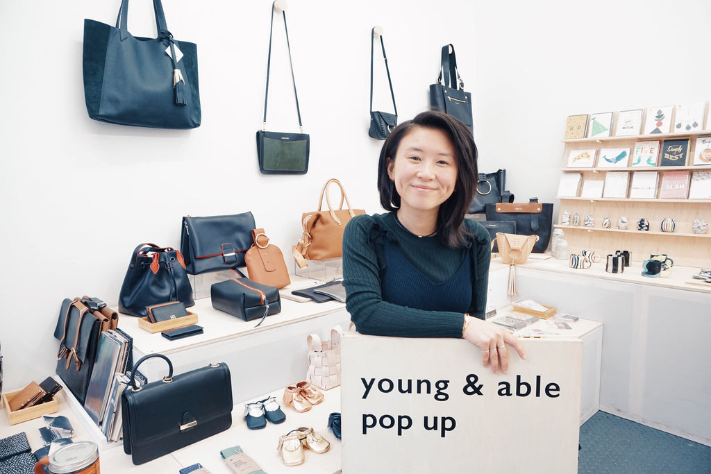 Rosa Ng, Young & Able Pop Up Shop NYC