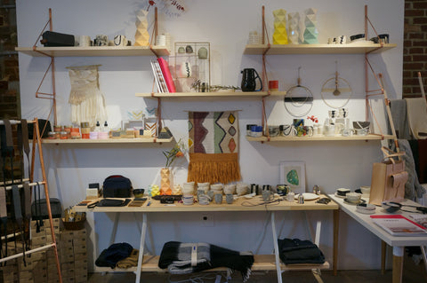 Images from our monthlong holiday pop-up shop featuring 40+ small emerging businesses.