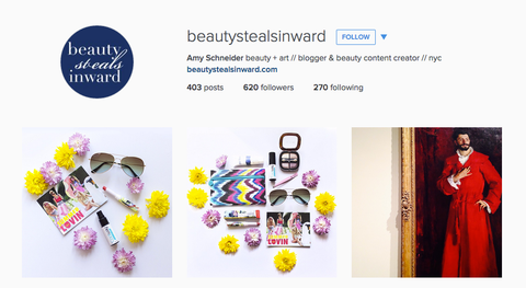 beauty steals inward instagram