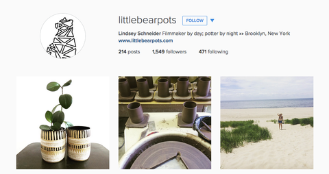 little bear pots instagram
