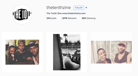 the tenth zine instagram