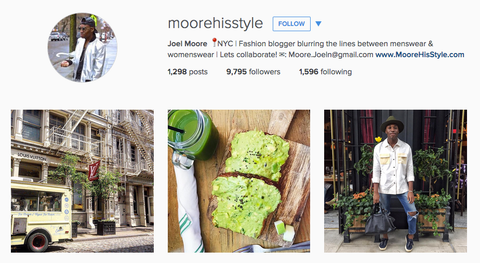 moore his style instagram