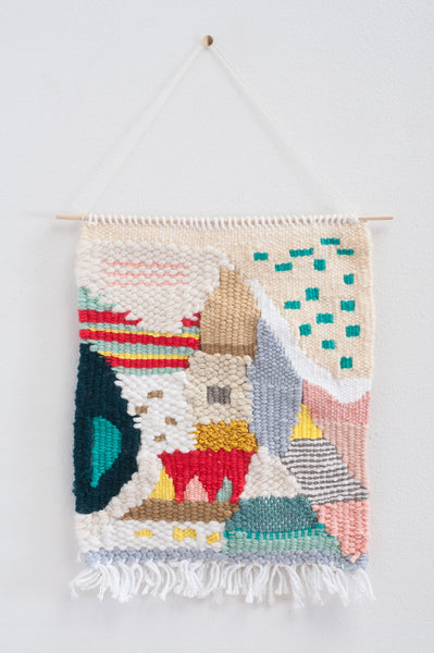 The Neighbors I Woven Wall Hanging