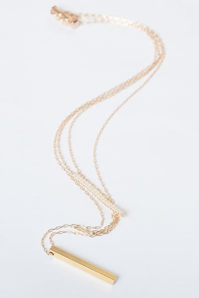Woven Double Strand Necklace - more colors