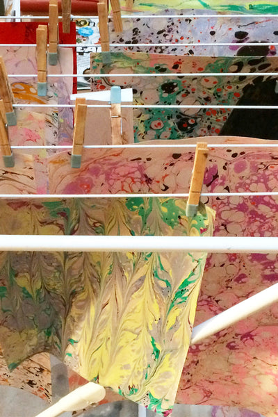 Introduction to Paper Marbling - Young & Able  - 1