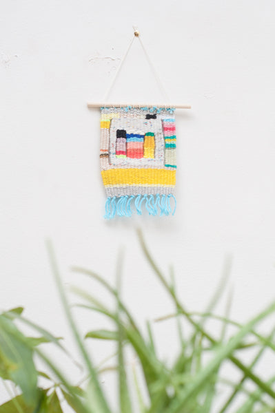 Palm Woven Wall Hanging