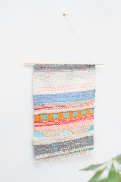 Temescal Before Rain Woven Wall Hanging