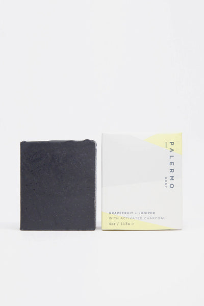 Grapefruit & Juniper with Activated Charcoal Soap - Young & Able  - 2