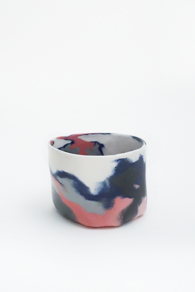 Marbled porcelain cup - Young & Able  - 3