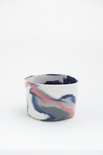 Marbled porcelain cup - Young & Able  - 1