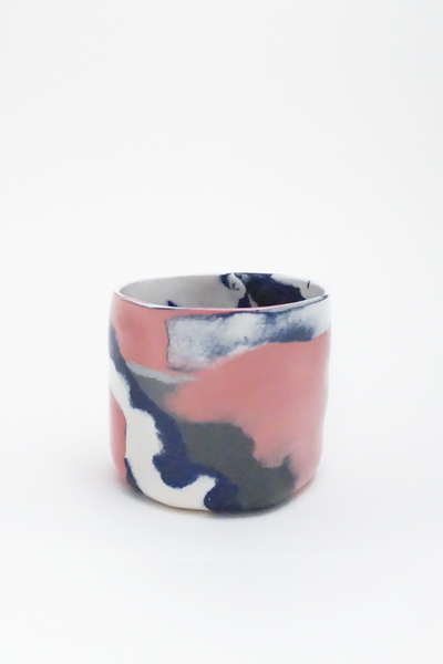 Marbled porcelain cup - Young & Able  - 7