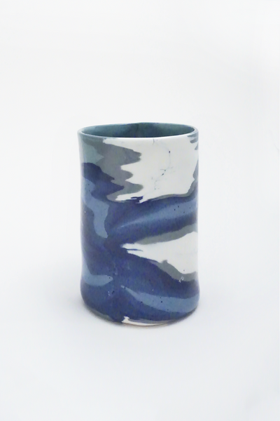 Marbled Ceramic Vase - Young & Able  - 1