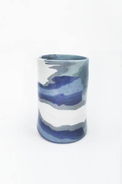 Marbled Ceramic Vase - Young & Able  - 2