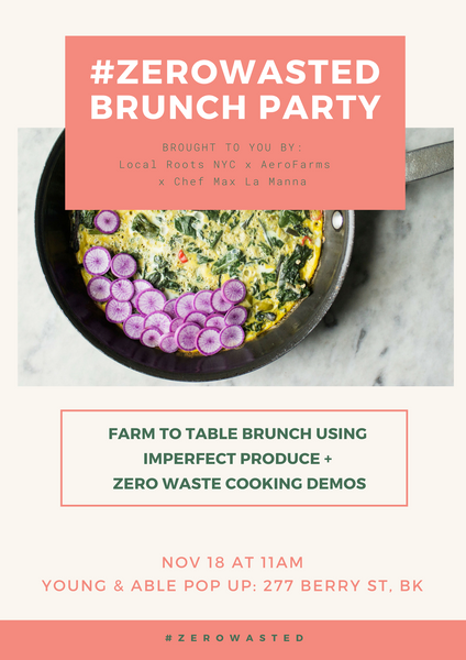 11/18 #ZEROWASTED Brunch Party