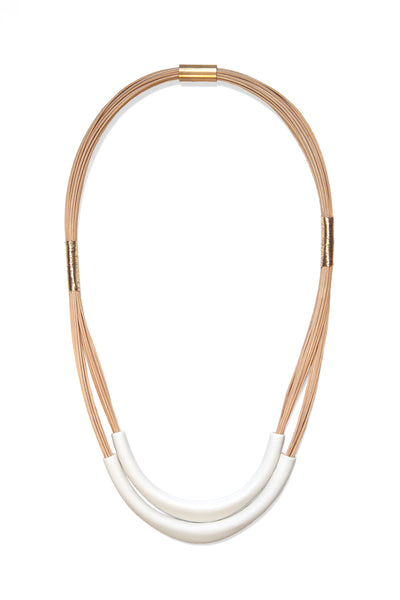 Chest Shield Double Necklace - Young & Able  - 1