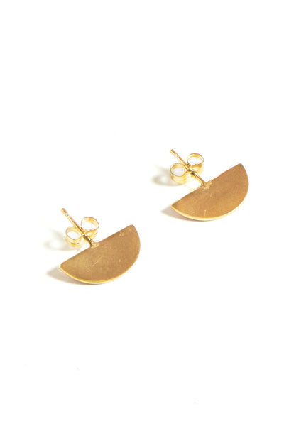 3D Half Moon Earring - Young & Able  - 1