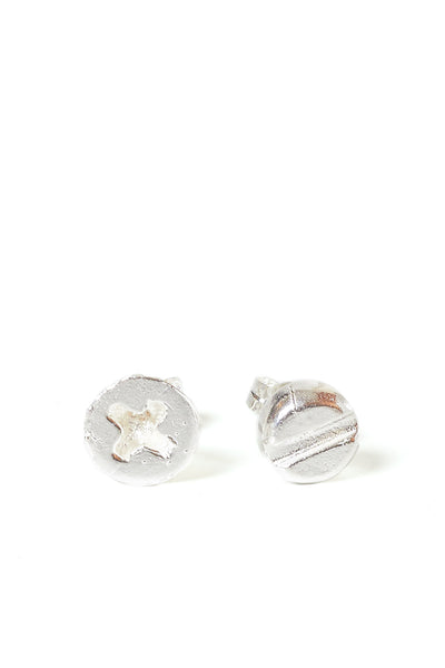 screwhead ear studs (+ -) - Young & Able  - 1
