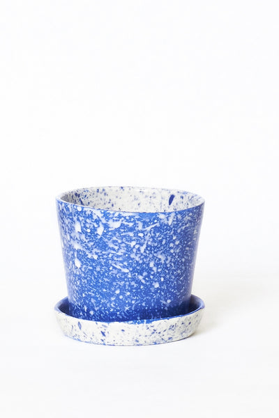 Blue All-In-One Speckled Planters - Young & Able  - 1