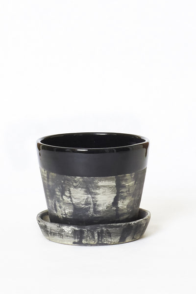 Black All-In-One Faded Planter - Young & Able  - 2