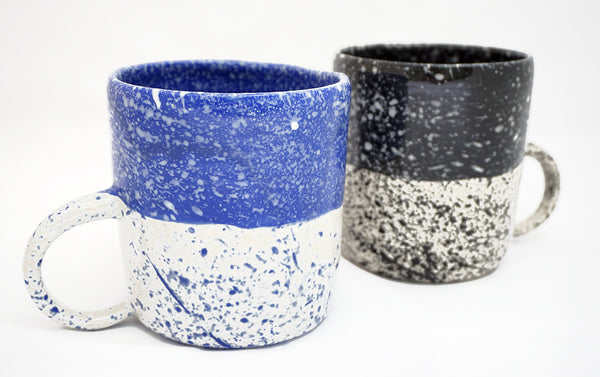 Speckled Mug - Black - Young & Able  - 3