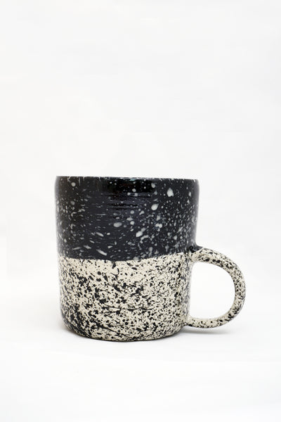Speckled Mug - Black - Young & Able  - 1