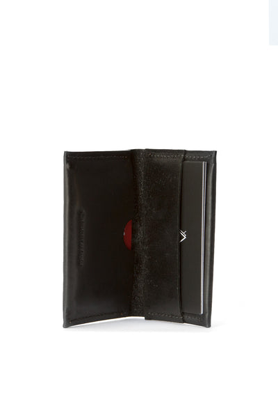 Bi-fold Leather Wallet - Black - Young & Able  - 2