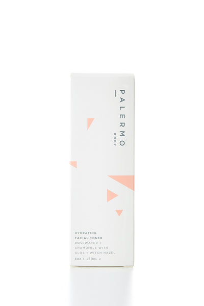 Hydrating Facial Toner - Rosewater + Chamomile - Young & Able  - 3