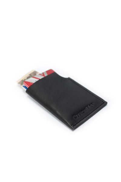 Leather Wallet - Black - Young & Able  - 4