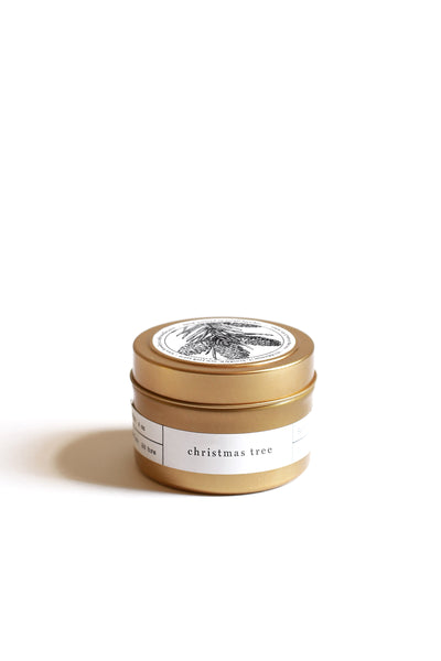 Gold Travel Tins - more scents