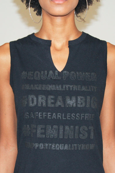 Equal Power Woman Easy Muscle Tank