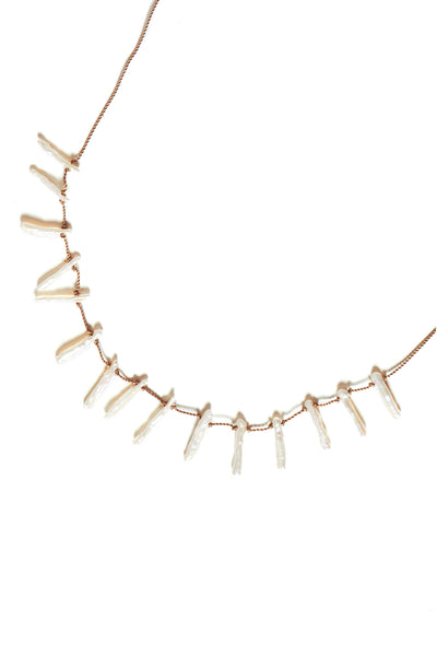 Stick Pearl necklace - Young & Able  - 2