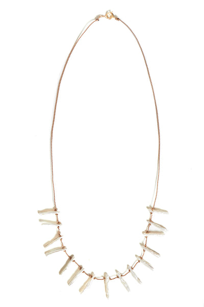 Stick Pearl necklace - Young & Able  - 1