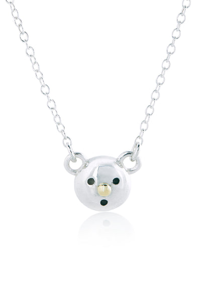 Gold Nose Bear Necklace