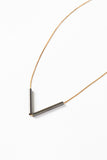 Multi Arrow Necklace on Copper Chain - Young & Able  - 3