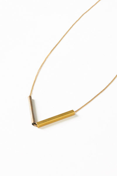 Multi Arrow Necklace on Copper Chain - Young & Able  - 2