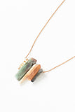 Rainbow Pendant Necklace - Young & Able  - 2