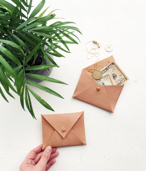 Leather Envelope Pouches - Young & Able  - 2