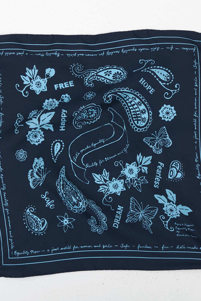 Let's Make Equality Reality Silk Bandana