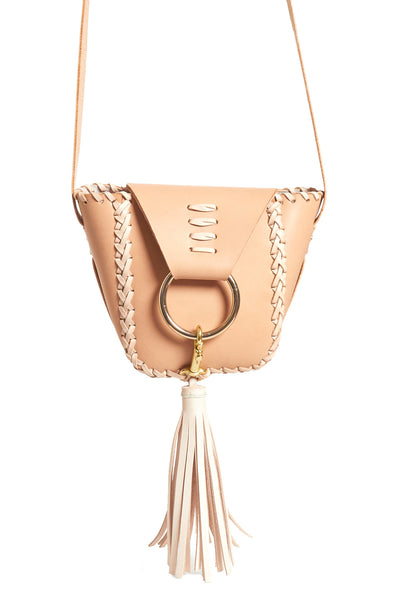 Mini Knocker Leather Tote