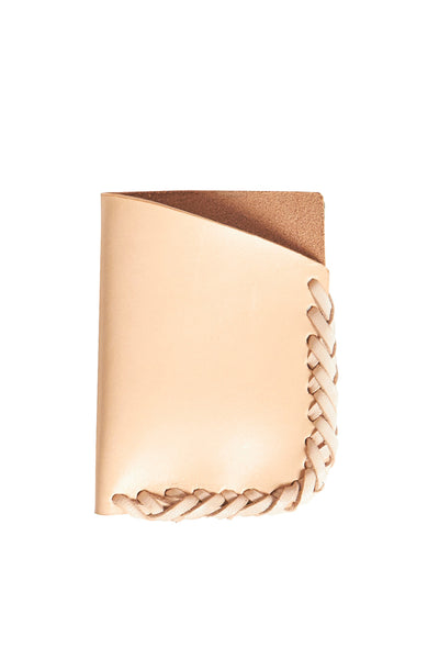 Nude Leather wrap wallet - Young & Able