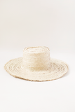 Woven Palm leaf hat