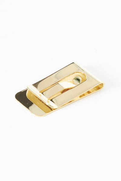 18K Gold Money Clip - Young & Able  - 1