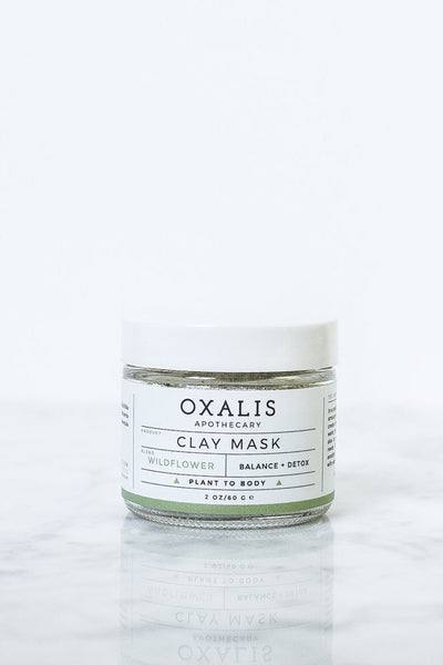 Wildflower Clay Mask