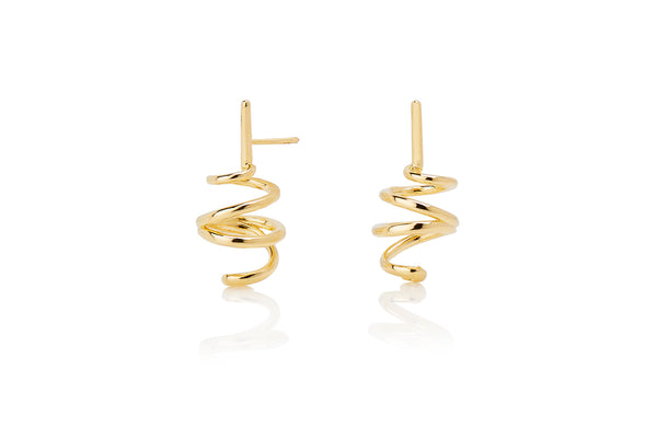 Pop Coil earrings (pair)