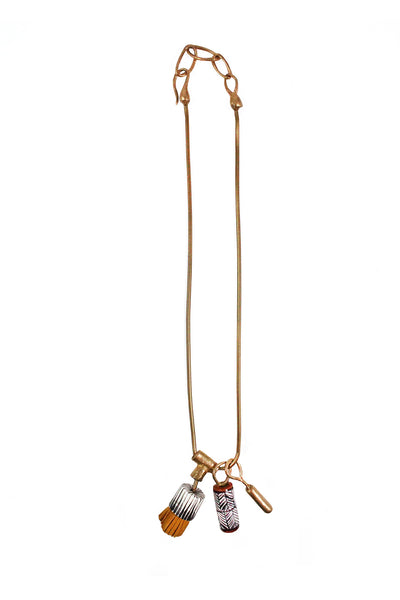 Pomona Charm Necklace - Young & Able  - 1