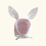 Brushed Flannel Bunny Hat