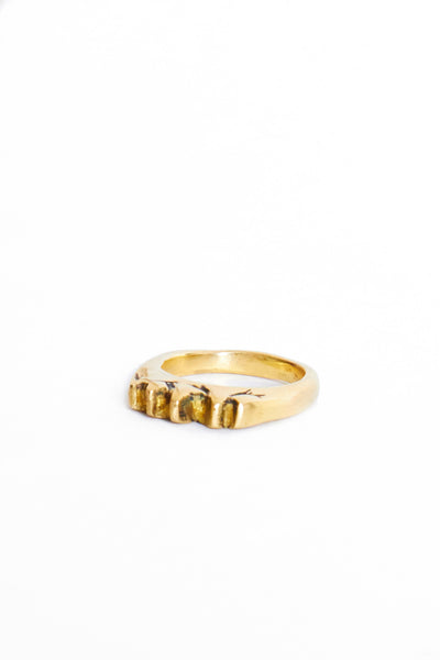 Brass Mountain Ring - Young & Able  - 1