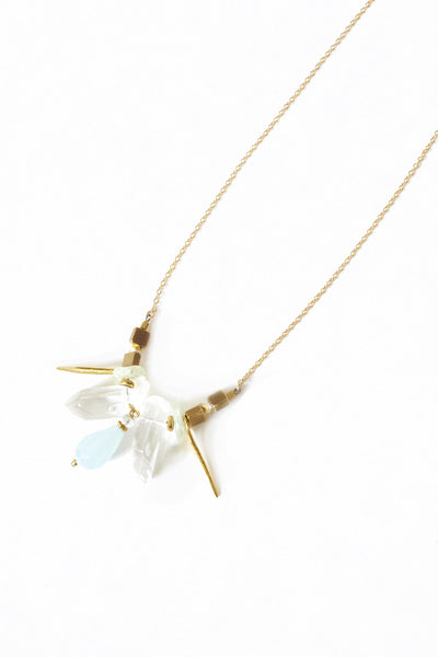 Gold Spike Necklace - Young & Able  - 3
