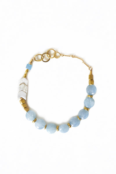 Blue Agate Bracelet - Young & Able  - 1