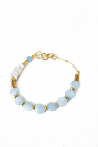Blue Agate Bracelet - Young & Able  - 2